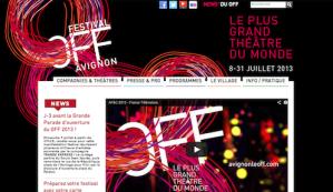 Tout le programme du festival d'Avignon Off en un clic